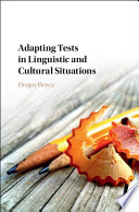 Adapting Tests in Linguistic and Cultural Situations