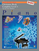Alfred's Basic Piano Course: Top Hits! Christmas Book Complete 1 (1A/1B)