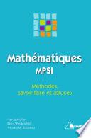 illustration Mathématiques MPSI, méthodes, savoir-faire et astuces