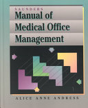 Saunders Manual Of Medical Office Management