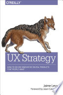 UX Strategy by Jaime Levy/