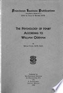 The Psychology Of Habit According To William Ockham