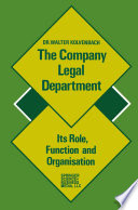 The Company Legal Department