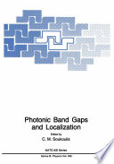 Photonic Band Gaps and Localization