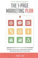 The 1 Page Marketing Plan