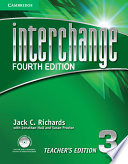 Interchange Level 3 Teacher's Edition with Assessment Audio CD/CD-ROM Free download PDF and Read online
