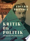 Kritik og politik  artikler fra Politiken