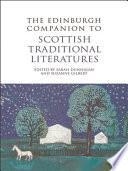 Edinburgh Companion To Scottish Traditional Literatures