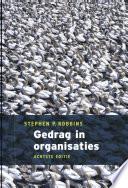 Gedrag In Organisaties Incl Sap 8 E