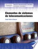 Elementos de sistemas de telecomunicaciones