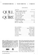 Quill and Quire