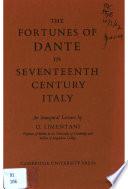 Fortunes of Dante in 17th Century Italy