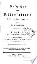 Handbuch der Geschichte des Mittelalters