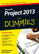 Microsoft Project 2013 f  r Dummies