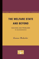 The Welfare State and Beyond