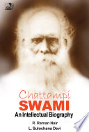 Chattampi Swami: An Intellectual Biography