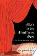 Mord in der Frankfurter Oper