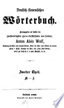Deutsch-slovenisches Wörterbuch
