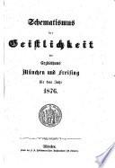 Schematismus der Erzdiözese München und Freising