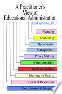 A Practitioner S View Of Educational Administration