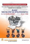 Basic Mechanical Engineering  Fe Sem  I  Su