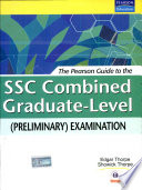 The Pearson Guide to the SSC Combined Graduate Level  Preliminary  Examination