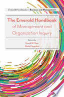 The Emerald Handbook of Management and Organization Inquiry Book PDF