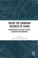 Inside the Changing Business of China Book