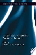 Law and Economics of Public Procurement Reforms