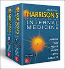 Harrison's Principles of Internal Medicine, Twentieth Edition (Vol.1 & Vol.2) Book Cover