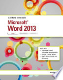 Illustrated Course Guide  Microsoft Word 2013 Basic