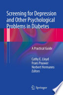 Screening For Depression And Other Psychological Problems In Diabetes