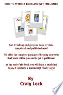 How To Write A Book And Get Published book