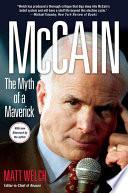 McCain  The Myth of a Maverick Book PDF