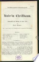 Unter'm Christbaum