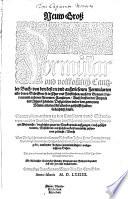 New Groß Formular und vollkommen Cantzley Buch