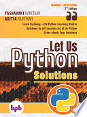 Let Us Python Solutions