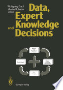 Data  Expert Knowledge and Decisions