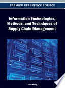 Information Technologies  Methods  and Techniques of Supply Chain Management