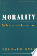 Morality : has produced the fullest and most sophisticated...