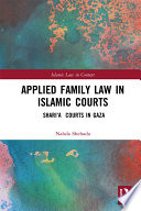 Applied Family Law in Islamic Courts