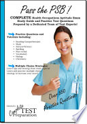 Pass the Psb Complete Health Occupations Aptitude Exam Study Guide and Practice Test Questions
