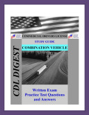CDL Practice Test Study Guide  Combination Vehicles