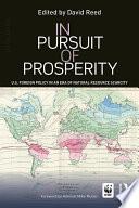 In Pursuit Of Prosperity
