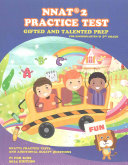 Gifted and Talented  NNAT Practice Test Prep for Kindergarten and 1st Grade