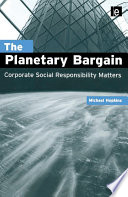 The Planetary Bargain
