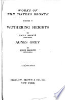 Works of the Sisters Bront    Wuthering heights  by Emily Bront    Ellis Bell   and  Agnes Grey by Anne Bront    Acton Bell