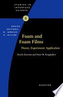 Foam And Foam Films book