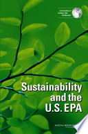 Sustainability and the U S  EPA