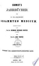 Jahrb  cher der in  und ausl  ndischen gesammten Medizin